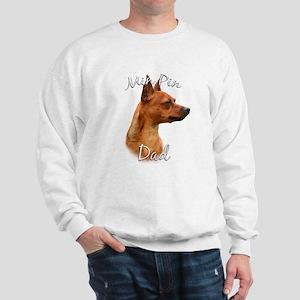 Min Pin Dad2 Sweatshirt