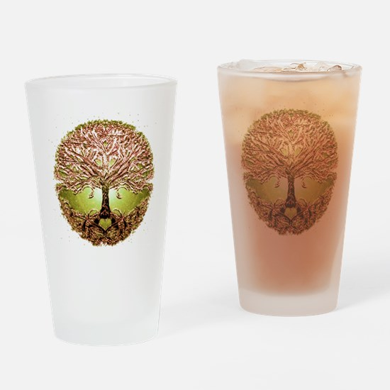 Cute Roots Drinking Glass