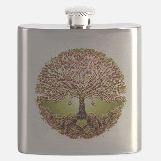 Cute Tree roots Flask