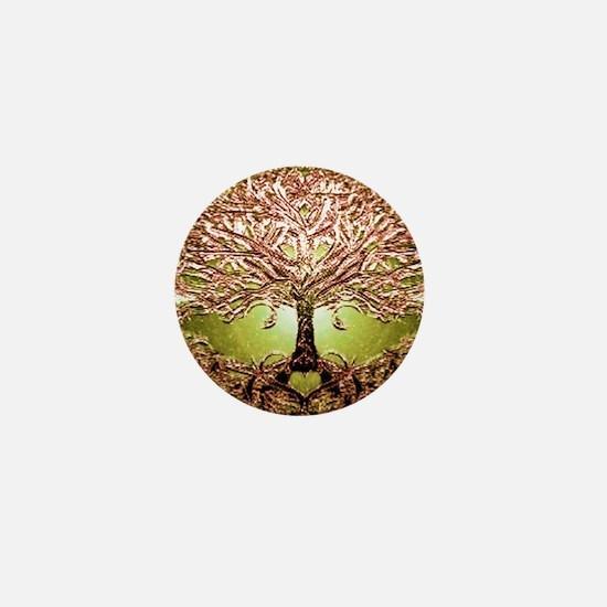 Unique Roots Mini Button