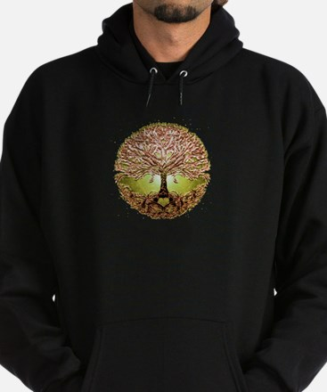 Unique Tree of life Hoodie (dark)