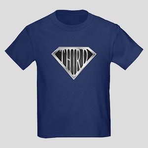 SuperThird(metal) Kids Dark T-Shirt