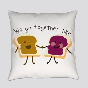 Together Sandwich Everyday Pillow
