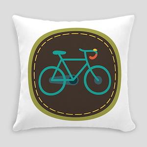 Bicycle Circle Everyday Pillow