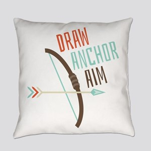 Draw Anchor Aim Everyday Pillow