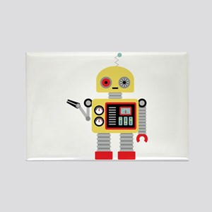 Yellow Robot Magnets