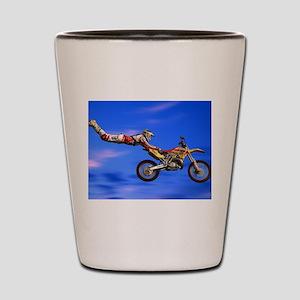 Motocross Freestyle Shot Glass