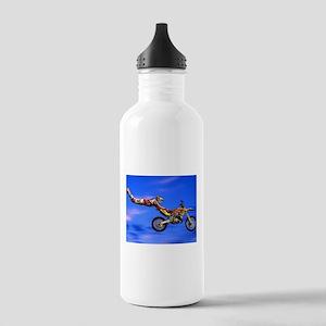 Motocross Freestyle Sports Water Bottle