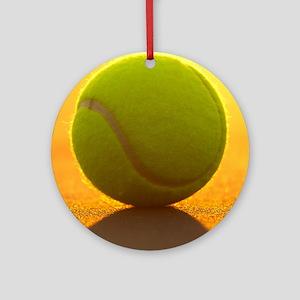 Tennis Ball Round Ornament
