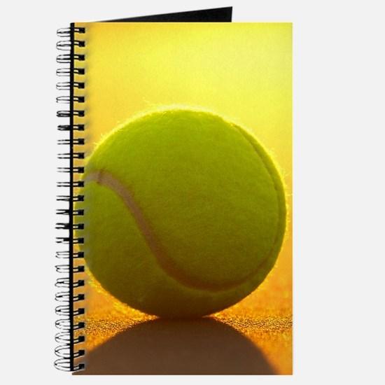 Tennis Ball Journal