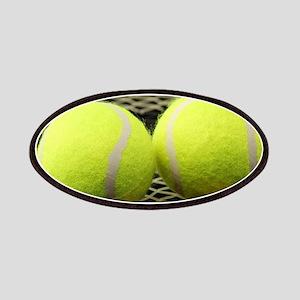 Tennis Balls And Racquet Patch