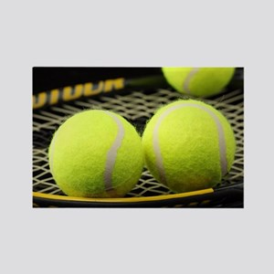 Tennis Balls And Racquet Magnets