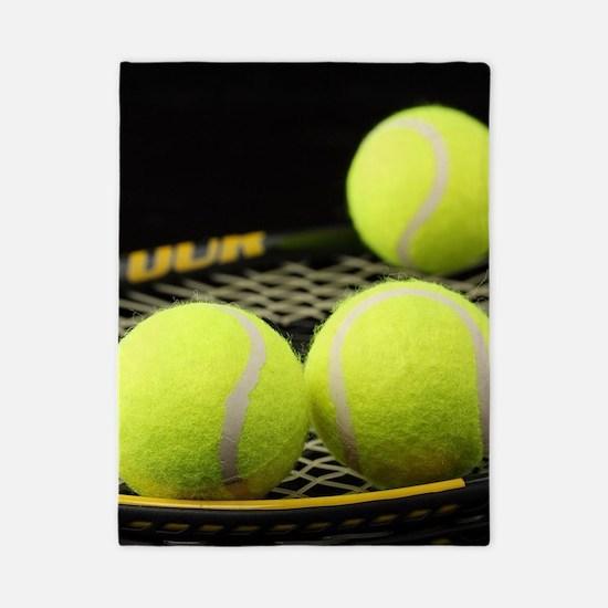 Tennis Balls And Racquet Twin Duvet