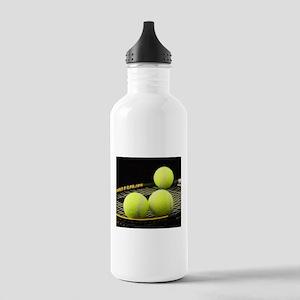 Tennis Balls And Racquet Sports Water Bottle