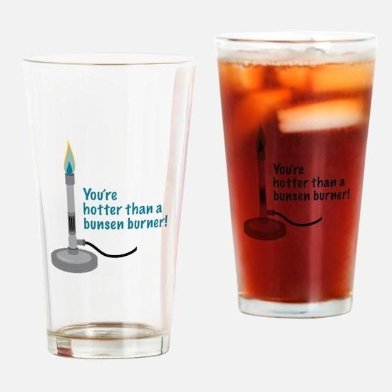 Hotter Than Burner Drinking Glass