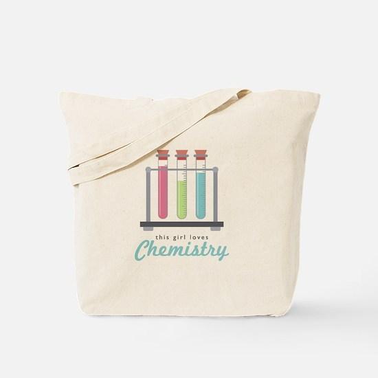 Love Chemistry Tote Bag