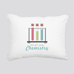 Love Chemistry Rectangular Canvas Pillow