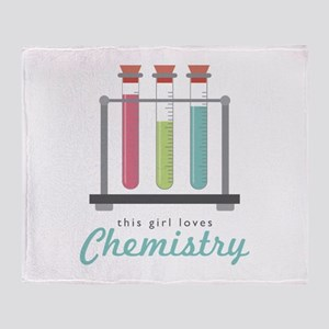 Love Chemistry Throw Blanket