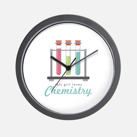 Love Chemistry Wall Clock