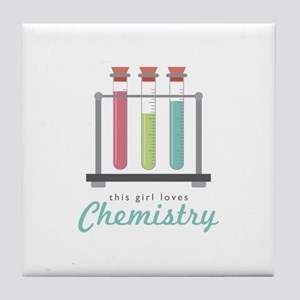 Love Chemistry Tile Coaster