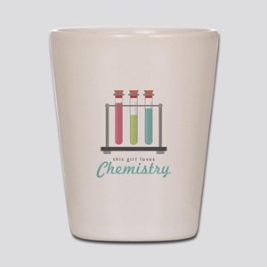 Love Chemistry Shot Glass