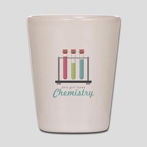 Love Chemistry Shot Glass