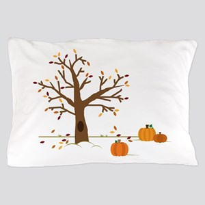Fall Pumpkins Pillow Case