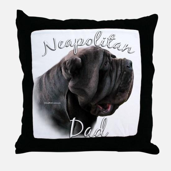 Neo Dad2 Throw Pillow