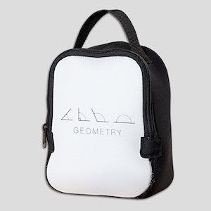Geometry Neoprene Lunch Bag