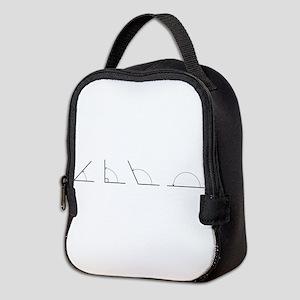 Math Angles Neoprene Lunch Bag