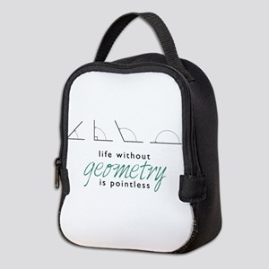 Without Geometry Neoprene Lunch Bag
