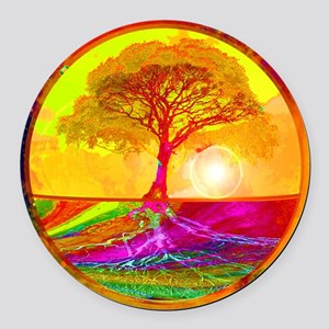 Healing Round Car Magnet