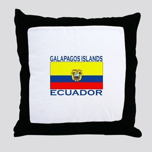 Galapagos Islands, Ecuador Throw Pillow