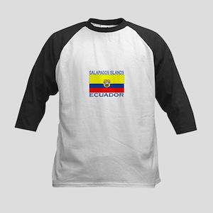 Galapagos Islands, Ecuador Kids Baseball Jersey
