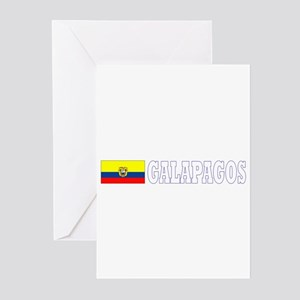 Galapagos Islands, Ecuador Greeting Cards (Pk of 1