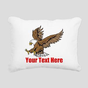 Bald Eagle Rectangular Canvas Pillow