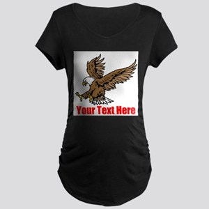 Bald Eagle Maternity T-Shirt