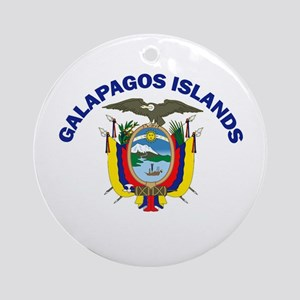 Galapagos Islands, Ecuador Ornament (Round)