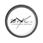 Riveted By Design Wall Clock