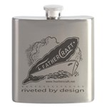 Riveted By Design Flask