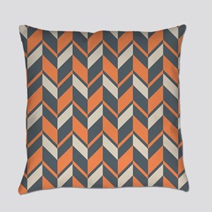 Southwest Desert Chevron Pattern Everyday Pillow