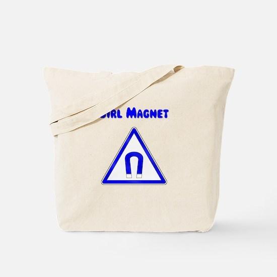 Girl Magnet Tote Bag