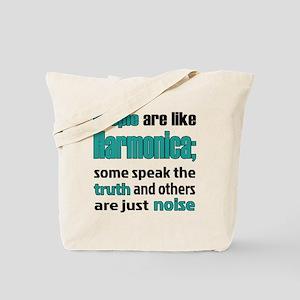 People are like Harmonica Tote Bag