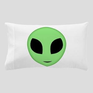 Friendly Alien Head Pillow Case