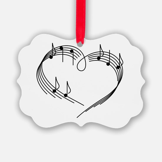 Cute Flute Ornament