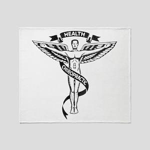Chiropractic Health Throw Blanket