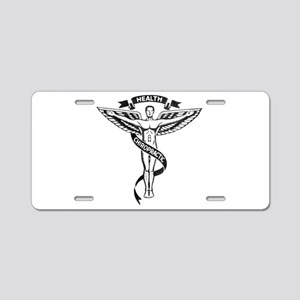 Chiropractic Health Aluminum License Plate