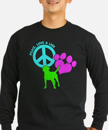 PEACE,LOVE,LABS T