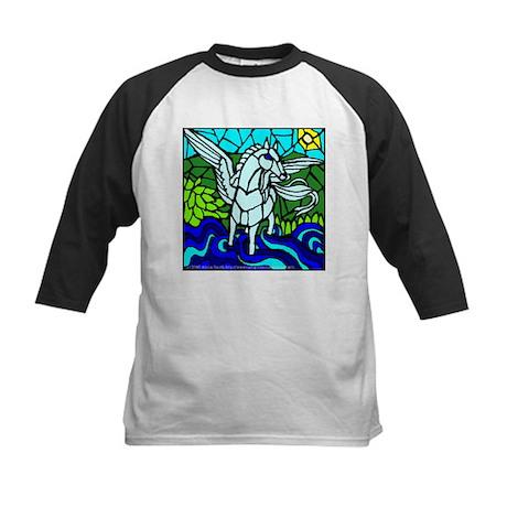 Pegasus the Flying Horse Kids Baseball Jersey