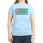 Find a New Friend Women's Light T-Shirt